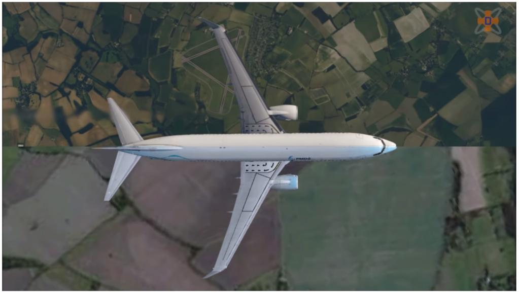 FSXとX-Plane11のデフォルトシーナリーの比較